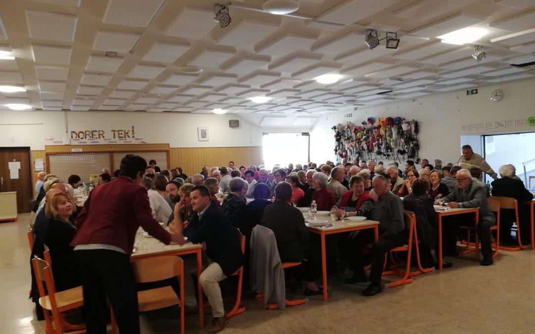 Srečanje starejših občanov KS Stopiče