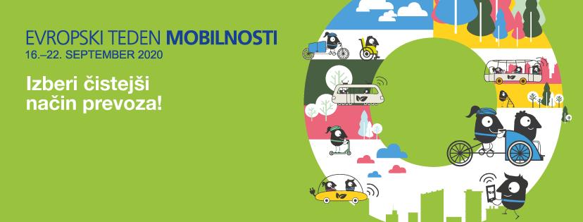 Evropski teden mobilnosti s sloganom GREMO PEŠ